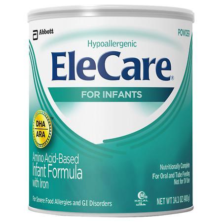 EleCare Amino Acid Based Infant Formula with Iron, Powder - 14.1 oz.