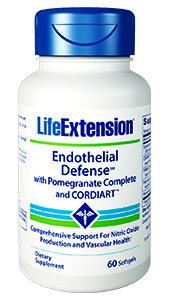 Endothelial Defense™ with Pomegranate Complete and CORDIART™, 60 softgels