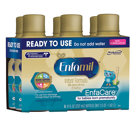 Enfamil Enfacare for Premature infants Ready-to-Use - 8 oz.