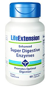 Enhanced Super Digestive Enzymes, 60 vegetarian capsules