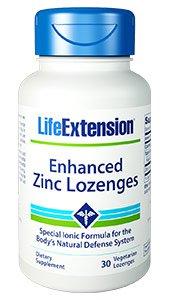 Enhanced Zinc Lozenges, 30 vegetarian lozenges