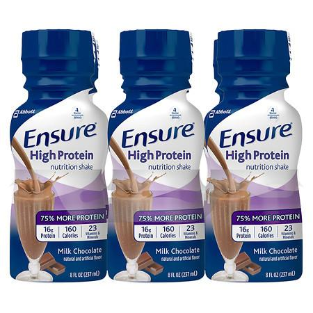 Ensure Active High Protein Nutrition Shake Milk Chocolate - 8 oz.