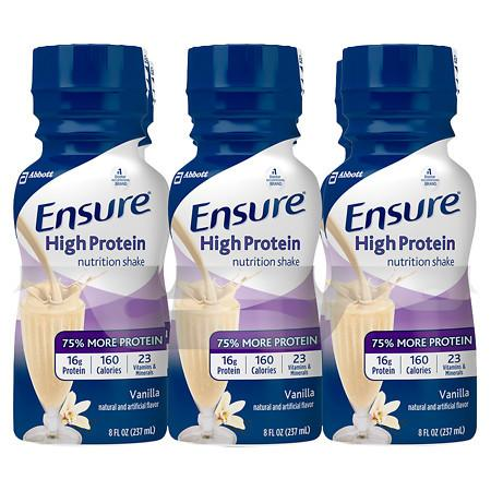 Ensure Active High Protein Nutrition Shake Vanilla - 8 oz.