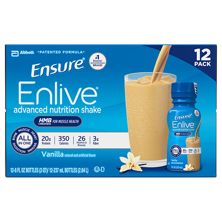 Ensure Enlive Advanced Nutrition Shake Vanilla - 8 oz.