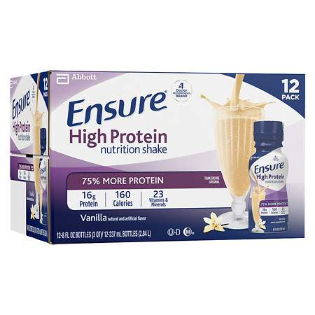 Ensure Nutrition Shake Vanilla - 8 fl oz