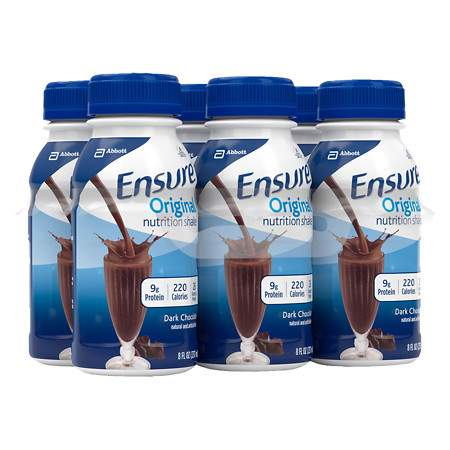 Ensure Nutrition Shakes Liquid Dark Chocolate - 8 oz.