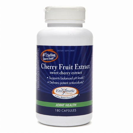 Enzymatic Therapy Cherry Fruit Extract, Capsules - 180 ea