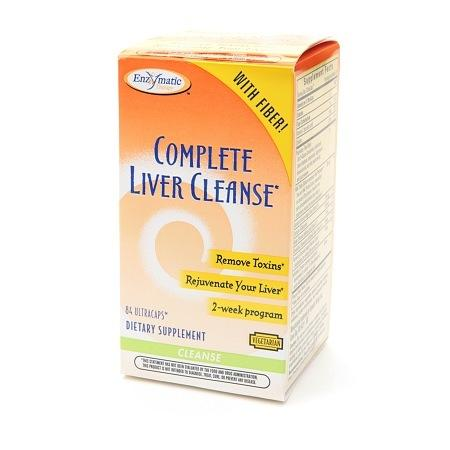 Enzymatic Therapy Complete Liver Cleanse, Ultracaps - 84 ea