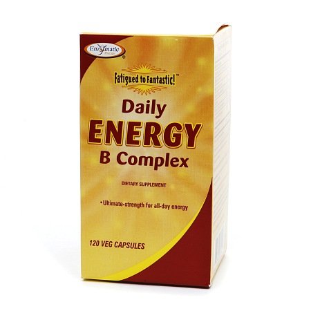 Enzymatic Therapy Daily Energy B Complex, Vegetarian Capsules - 120 ea