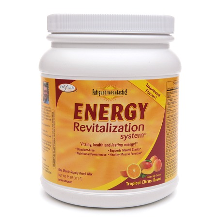 Enzymatic Therapy Energy Revitalization System Drink Mix Citrus - 25 oz.