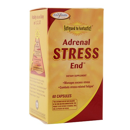 Enzymatic Therapy Fatigued to Fantastic! Adrenal Stress End, Capsules - 60 ea