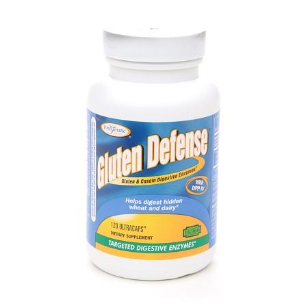 Enzymatic Therapy Gluten Defense Ultracaps - 120 ea