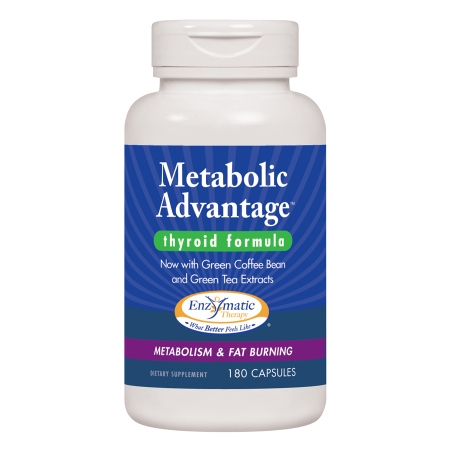 Enzymatic Therapy Metabolic Advantage, Capsules - 180 ea