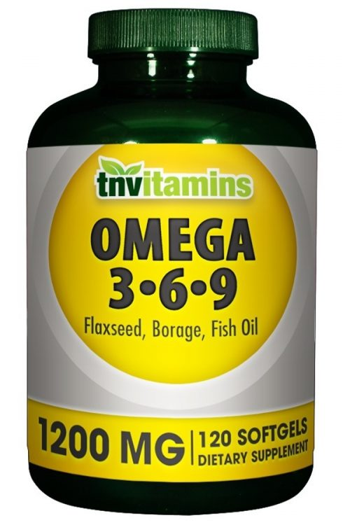 Essential Omega 3-6-9 Fish, Flax and Borage