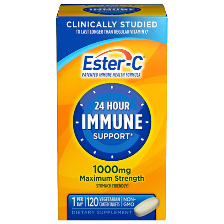 Ester C Vitamin C 1000mg - 120 coated tablets