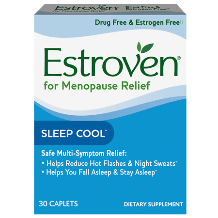 Estroven Nighttime, Caplets - 30 ea