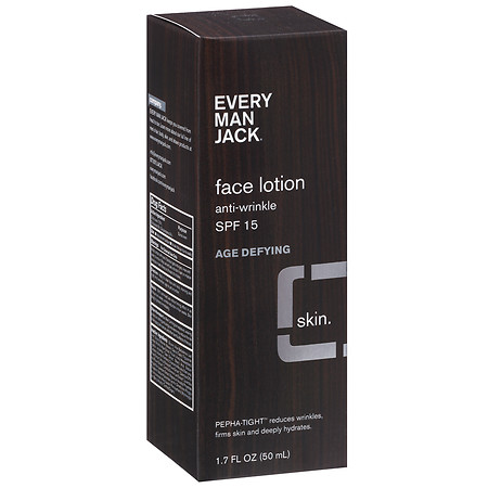 Every Man Jack Age Defying Face Lotion SPF 15 - 1.7 fl oz
