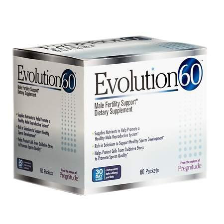 Evolution60 Male Fertility Supplement Packets - 60 ea