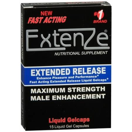 Extenze Extended Release Male Enhancement Supplement - 15 ea