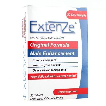 Extenze Original Formula Male Sexual Enhancement - 30 ea