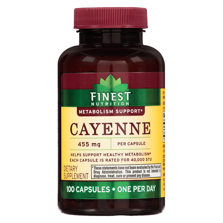 Finest Nutrition Cayenne 40,000 STU - 100 ea