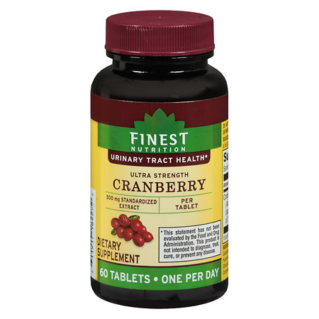 Finest Nutrition Ultra Strength Cranberry 500 mg - 60 ea