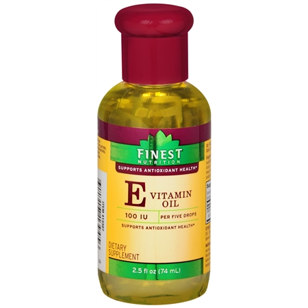 Finest Nutrition Vitamin E Oil - 2.5 fl oz