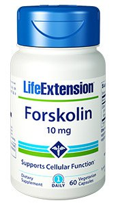 Forskolin, 10 mg, 60 vegetarian capsules
