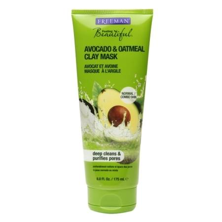 Freeman Feeling Beautiful Facial Clay Mask Avocado & Oatmeal - 6 fl oz