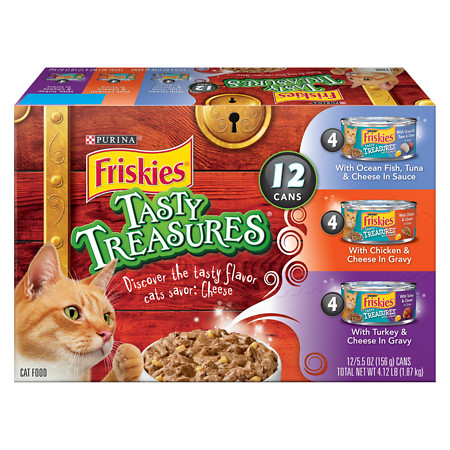 Friskies Tasty Treasures Cat Food Variety Pack - 6 oz.