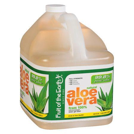 Fruit of the Earth Aloe Vera Juice Aloe Vera - 128 oz.