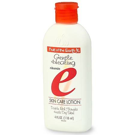 Fruit of the Earth Gentle Healing Vitamin E Skin Care Lotion - 4 oz.