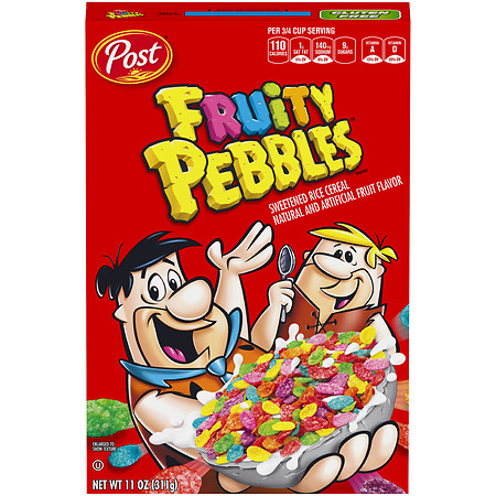 Fruity Pebbles Cereal - 11 oz.