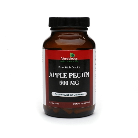 Futurebiotics Apple Pectin, 500 Mg, Capsules - 100 ea