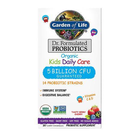 Garden of Life Dr. Formulated Kids Berry Probiotic - 30 ea