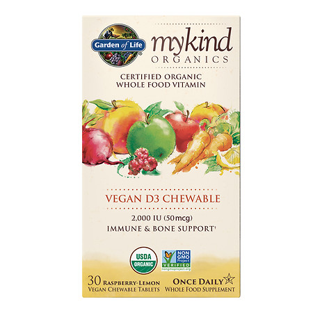 Garden of Life My Kind Vitamin D3 Chewables - 30 ea