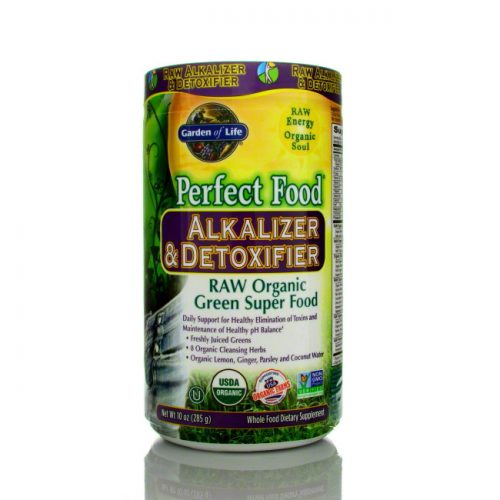 Garden of Life Perfect Food Alkalizer & Detoxifier, 285g