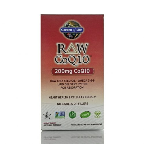 Garden of Life RAW CoQ10, 60 count