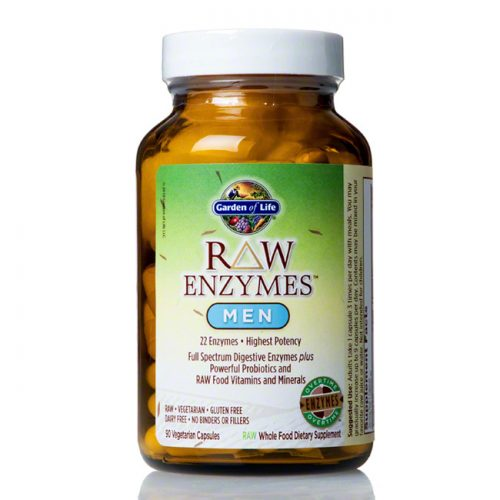 Garden of Life RAW Enzymes for Men, 90 ct