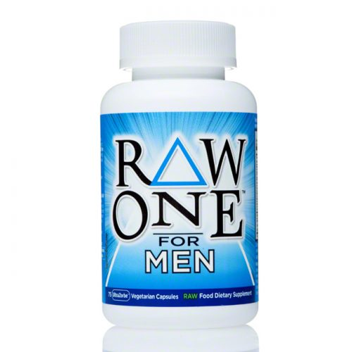 Garden of Life RAW ONE Once Daily Multi Vitamins for Men, 75 ct