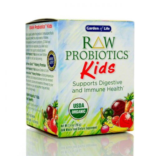 Garden of Life RAW Probiotics Kids, 3.4 oz/96g