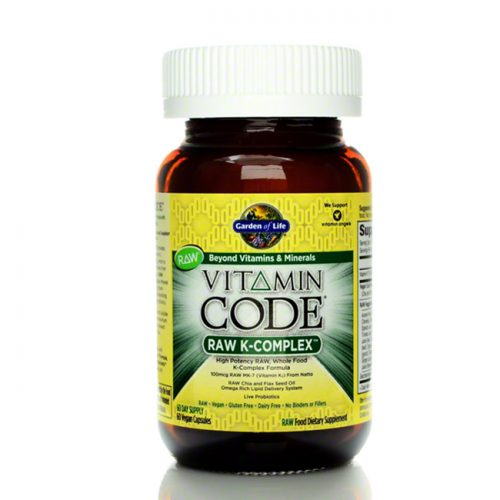 Garden of Life Vitamin Code RAW K-Complex, 60 count