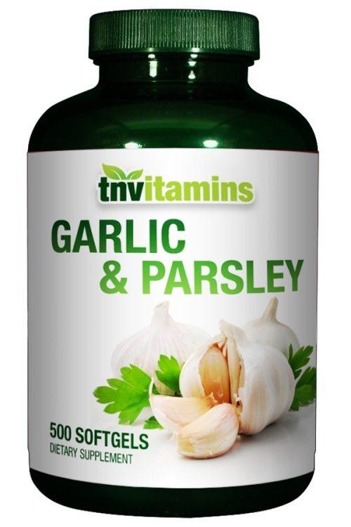 Garlic 600 Mg Softgels With Parsley