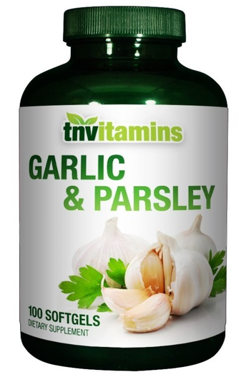 Garlic 600 Mg Softgels With Parsley