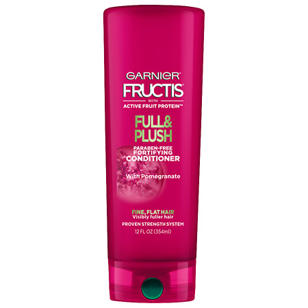 Garnier Fructis Full & Plush Fortifying Conditioner for Fine and Flat Hair - 13.71 oz.
