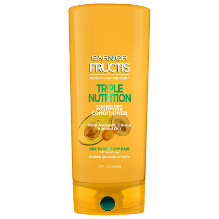 Garnier Fructis Triple Nutrition Conditioner, Dry to Very Dry Hair - 21 oz.