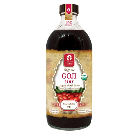 Genesis Today Organic Goji 100 - 16 fl oz