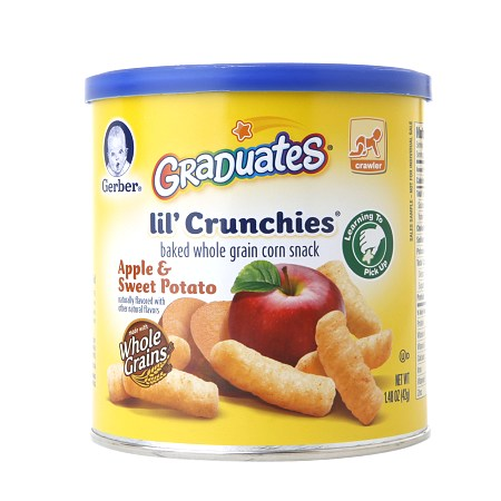 Gerber Graduates Lil Crunchies Apple Sweet Potato - 1.48 oz.