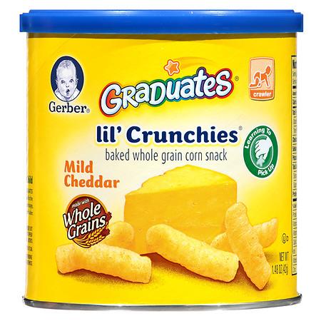 Gerber Graduates Lil' Crunchies Mild Cheddar - 1.48 oz.