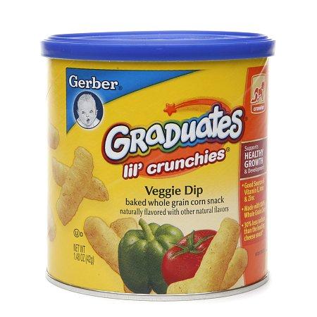 Gerber Graduates Lil' Crunchies Veggie Dip - 1.48 oz.